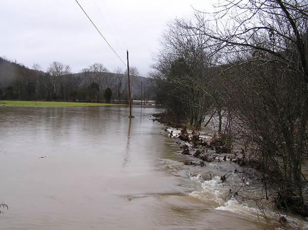 The Larkin Fork Floods